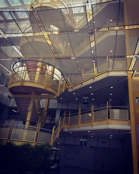Meerdere trappen in het Maastricht UMC.